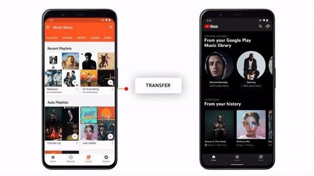 Google desactiva las compras de música en Google Play Música