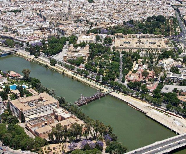 Sevilla.- Cs apoya reutilizar el puente de Alfonso XIII como pasarela, valora la