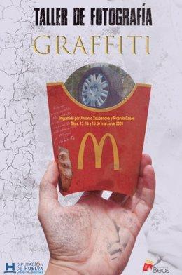 Cartel del taller de fotografía callejera 'Graffiti'.
