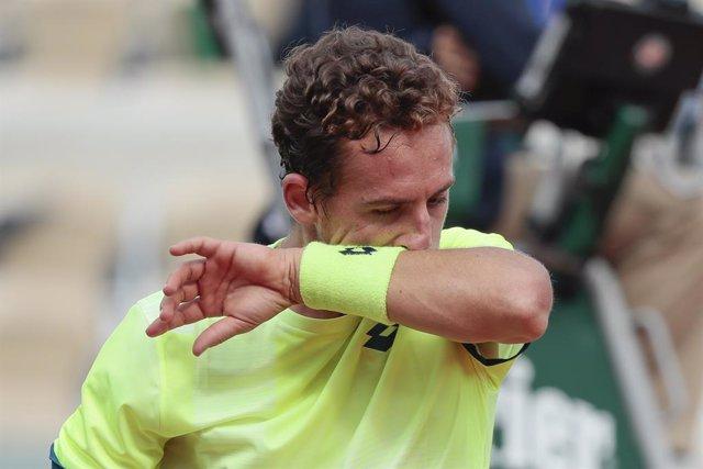Tenis.- Carballés y Andújar ponen fin a su andadura en el torneo de Cerdeña