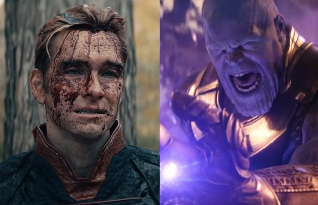 Patriota (The Boys) mata a los Vengadores de Marvel y se enfrenta a Thanos en este brutal fan film