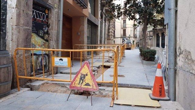 Endesa reforma parte de la red eléctrica de baja tensión de Tortosa (Tarragona).