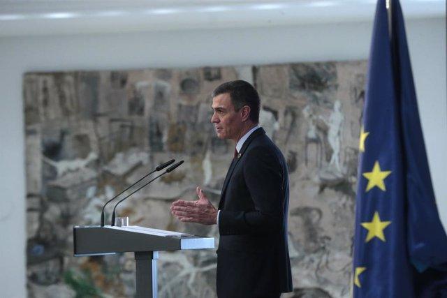 UE.- Sánchez pide junto a otros diez líderes europeos que la UE se comprometa a