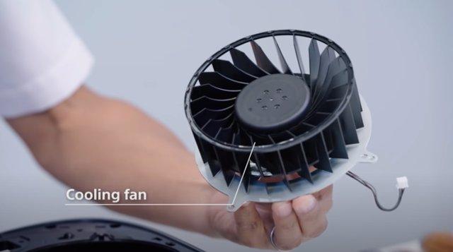 PS5 es enorme y ello se debe al sistema de ventilación