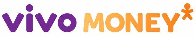 Logo de Vivo Money, el servicio de crédito personal de Telefónica Brasil