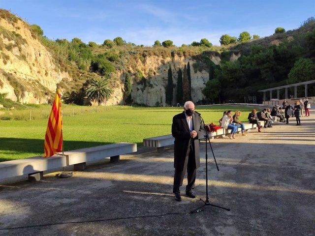 El líder d'ERC a l'Ajuntament de Barcelona, Ernest Maragall