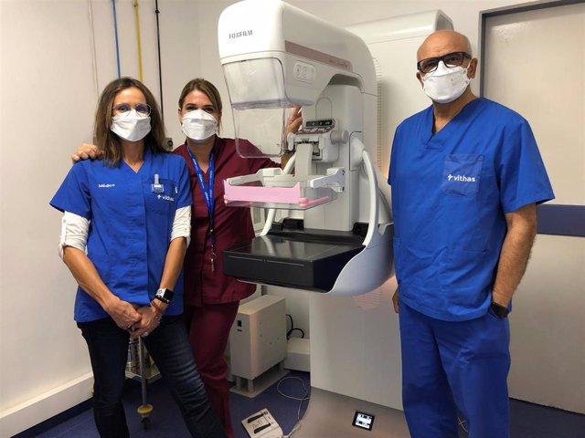 El equipo de Radiología de Vithas Las Palmas