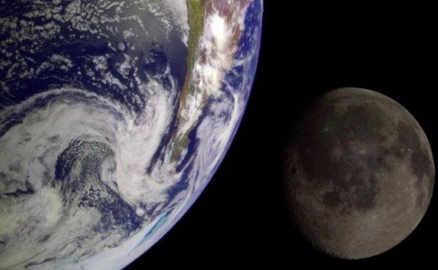 Tierra y Luna compartieron campo magnético protegiendo sus atmósferas