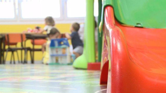 Una escola infantil (Arxiu)