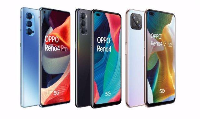 Ya está disponible en España la nueva serie de teléfonos OPPO Reno 4