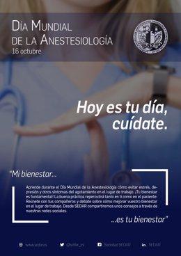 Día Mundial de la Anestesia.