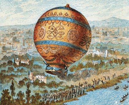 La primera ascensión de un globo tripulado cumple 237 años