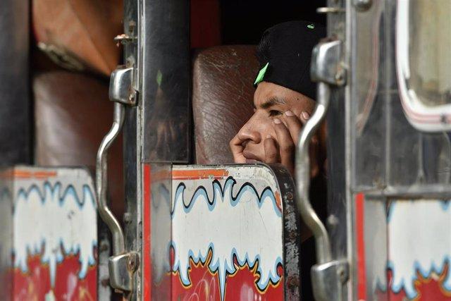 Protesta de indígenas del Cauca en Cali