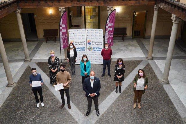 Entrega de las becas de Igualdad de la Diputación de Segovia.