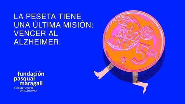 Campaña 'La última misión de la peseta'.