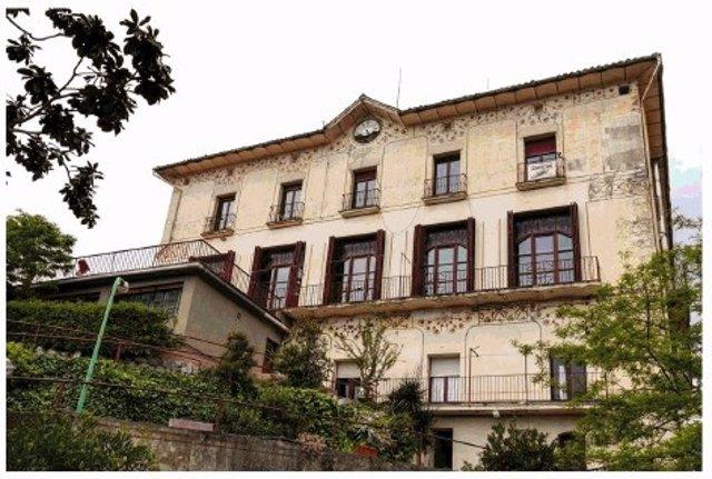 L'antic hotel modernista Buenos Aires de Vallvidrera