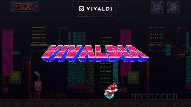 El navegador Vivaldi integra un juego arcade para competir con el dinosaurio de