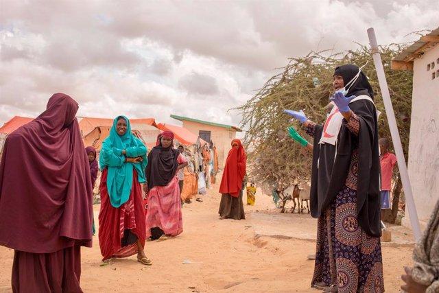 Africa.- Las consecuencias económicas de la pandemia disparan el hambre y la des