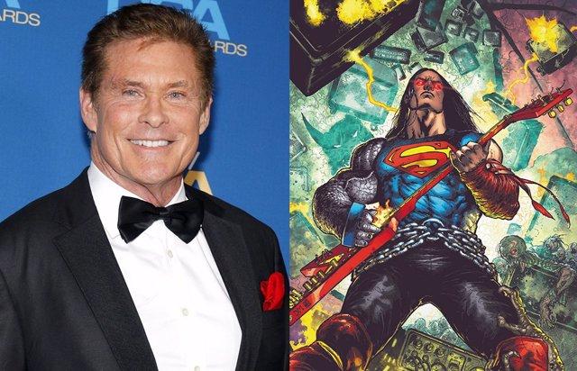 David Hasselhoff será Superman en la nueva serie de animación de DC