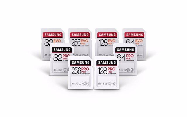 Samsung presenta las tarjetas SD PRO Plus y EVO Plus, con transferencias de dato