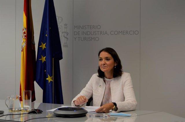 "Maroto asegura que a la UE ""no le va a temblar el pulso"" para imponer a arancele"