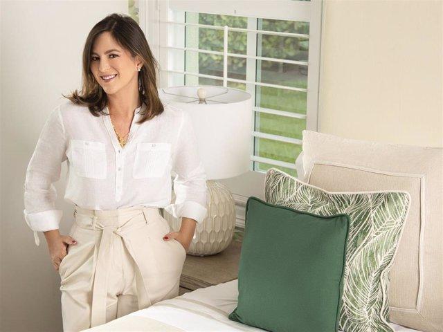 Chabeli Iglesias acaba de lanzar su propia colección textil para el hogar
