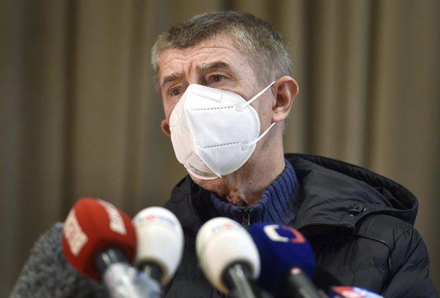 Coronavirus.- El primer ministro checo admite que las cifras de la pandemia son