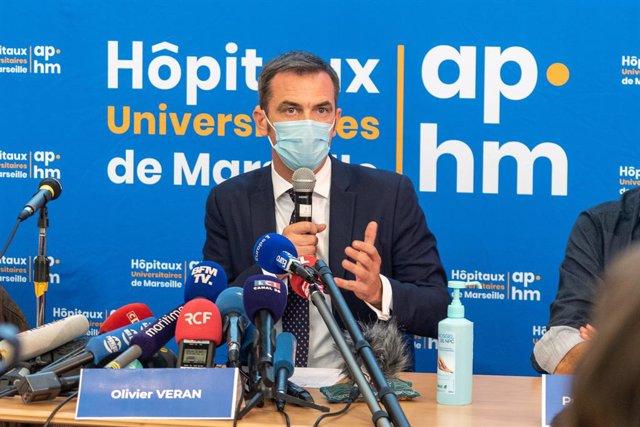 Olivier Véran, ministre de Sanitat de França.