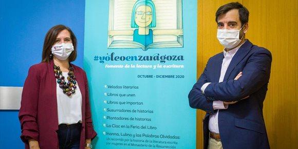 1. El Ayuntamiento de Zaragoza fomenta un otoño literario con una nueva edición de '#yoleoenzaragoza'