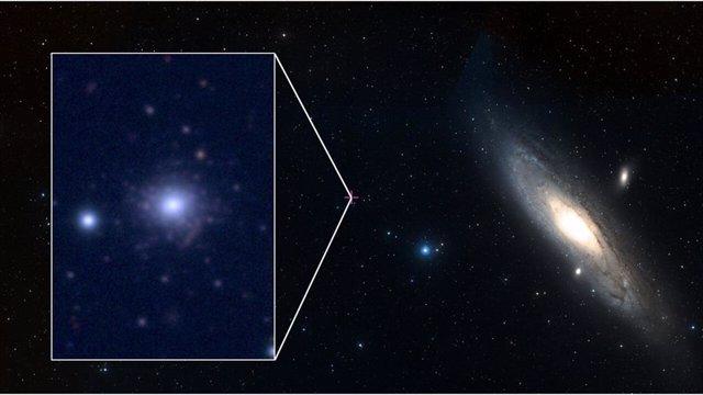 Se descubre inesperadamente un cúmulo globular pobre en metales