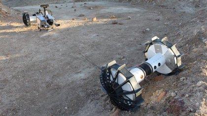 La NASA diseña un rover que hace rápel para desniveles de otros mundos