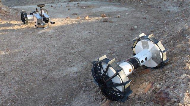 Prueba de campo del rover DuAxel