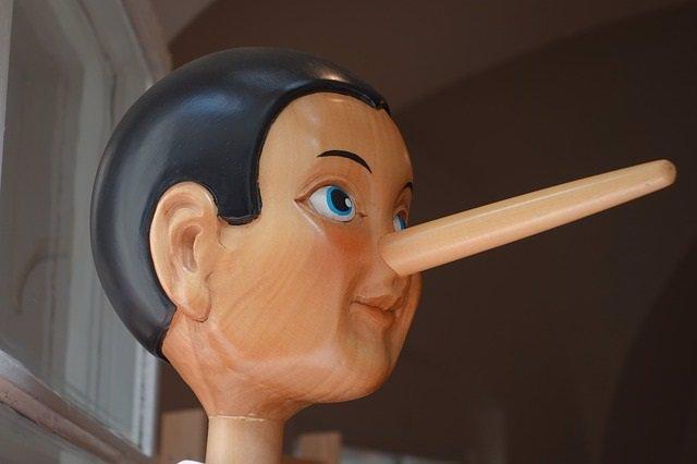 Pinocho, mentira, mentiroso