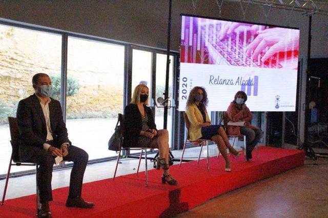 ÛRelanza Alcalá'  ha sido presentado públicamente este jueves en un acto en el Auditorio Riberas.