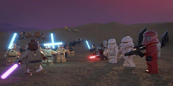 1. Billy Dee Williams, Kelly Marie Tran y Anthony Daniels se unen al especial navideño de LEGO Star Wars Felices fiestas
