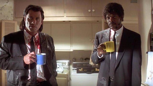 Fotograma de la película 'Pulp Fiction'.
