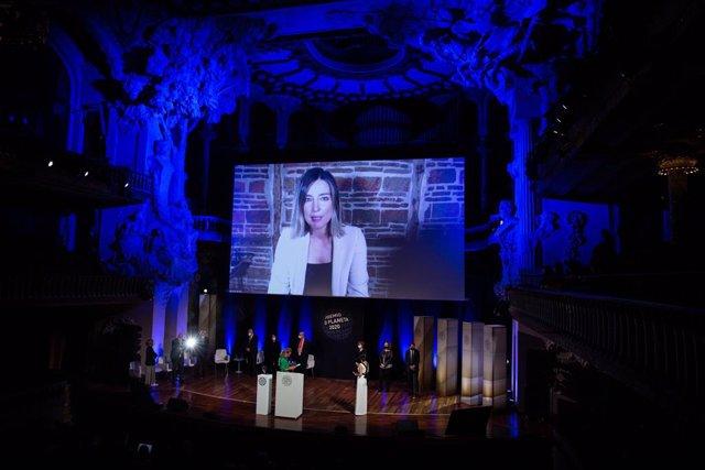Sandra Barneda, finalista del Premio Planeta 2020 con 'Un océano para llegar a ti'