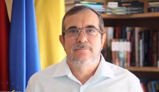 Rodrigo Londoño, alias 'Timochenko', presidente del partido FARC.