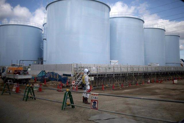 Imagen de archivo de la central nuclear de Fukushima.