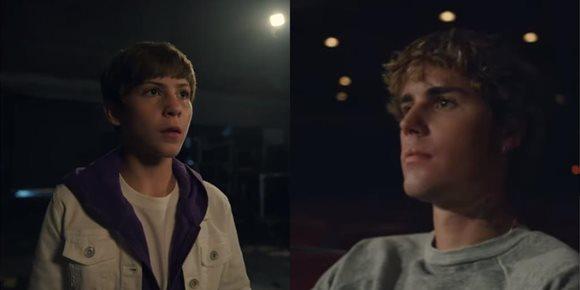 2. Justin Bieber se sincera sobre su pasado en Lonely con Jacob Tremblay como espejo