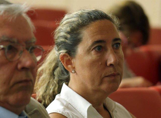 Gemma Montull en el judici del cas Palau