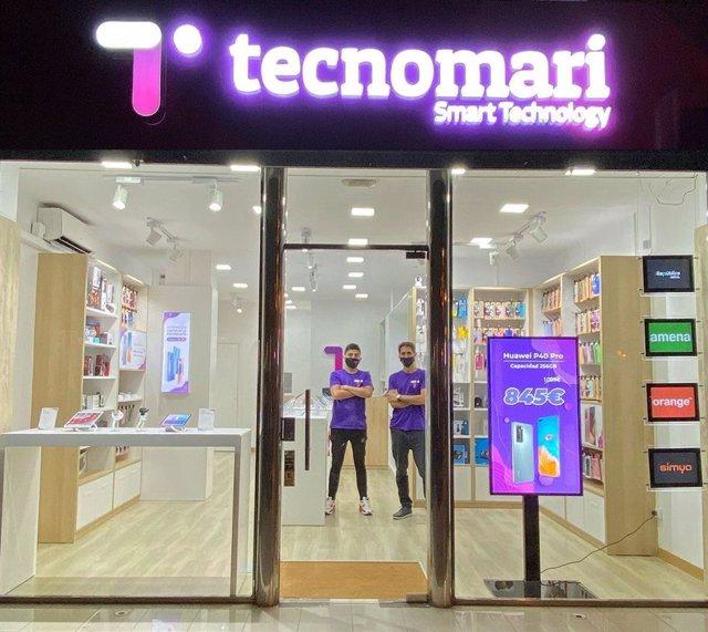 TECNOMARI abre una nueva tienda en Barcelona