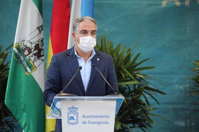El consejero de la Presidencia, Administración Pública e Interior, Elías Bendodo, en una foto de archivo
