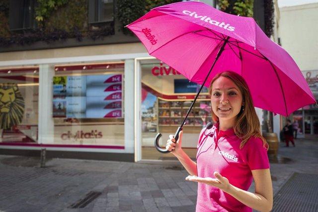 Una guía turística de Civitatis en Madrid
