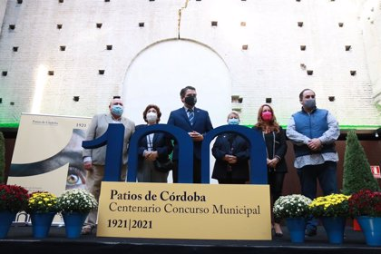 La Fiesta de los Patios de Córdoba celebra en 2021 cien años con programación anual y un logo inspirado en la literatura