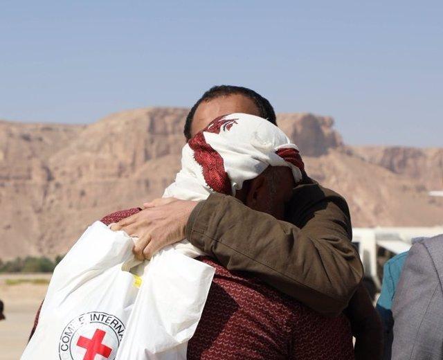 Intercambio de prisoneros en Yemen