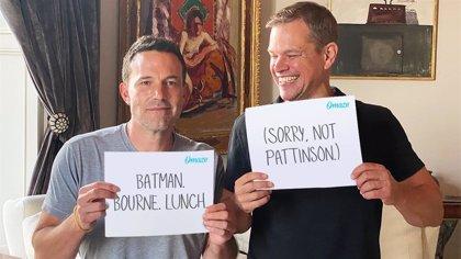 Matt Damon se ríe de Ben Affleck por perder el papel de Batman ante Robert Pattinson