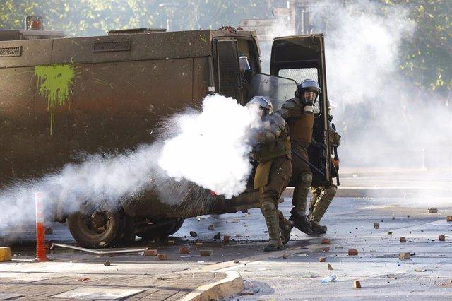 Chile.- El Gobierno de Chile avisa de que no tolerará revueltas en el aniversari