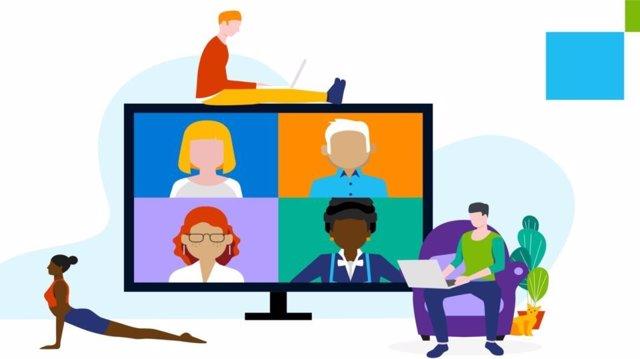 Estudio de Microsoft sobre el teletrabajo