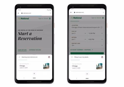 Google prueba Duplex para compras de productos o pedidos de comida